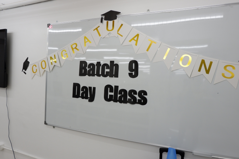 Batch 9 Day Class Graduation