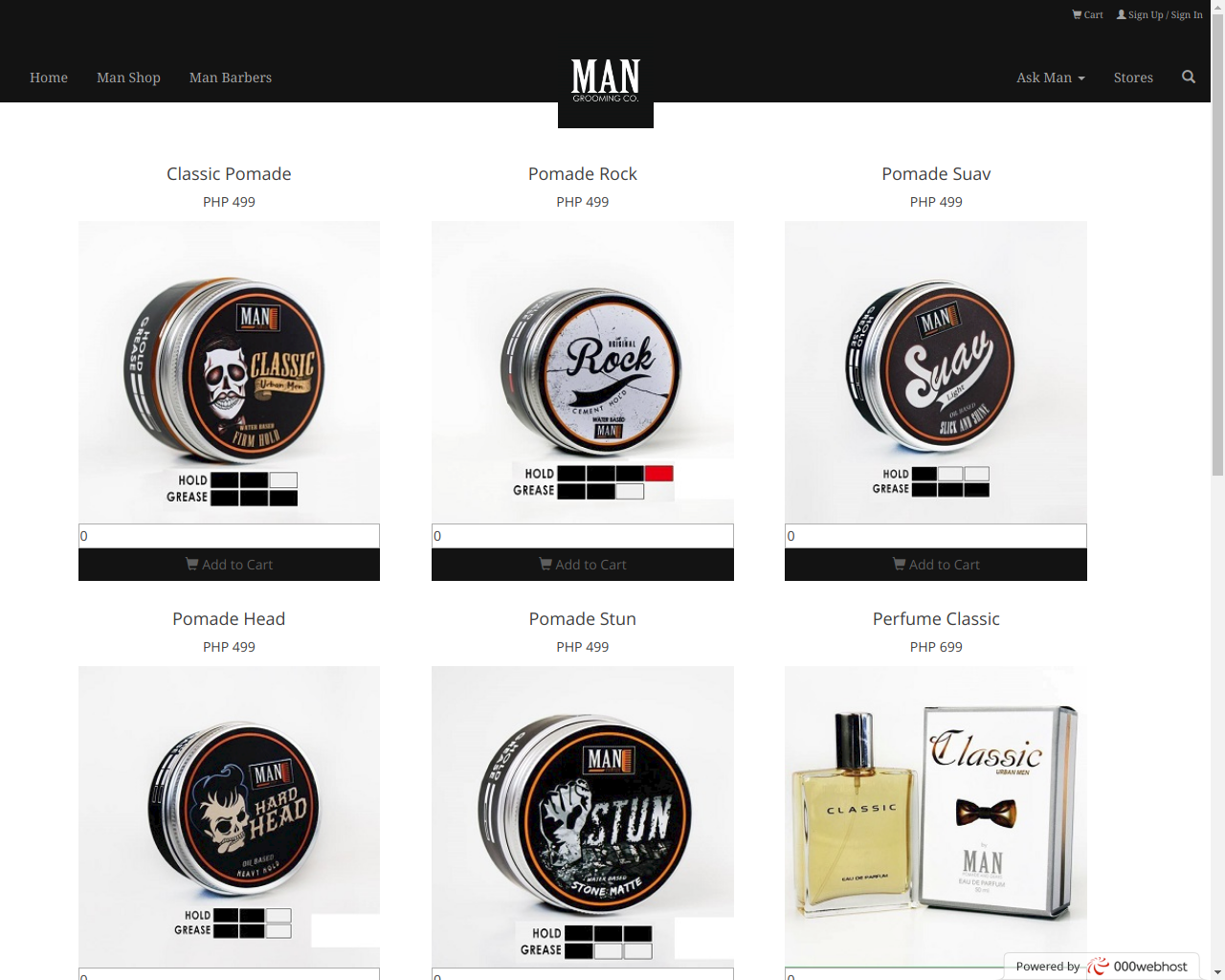 Man Grooming, Co., Created by Vlad